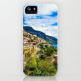 Amalfi Coast Italy Positano iPhone Case