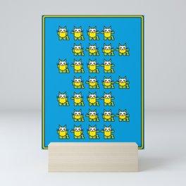 Catroid Pattern Mini Art Print