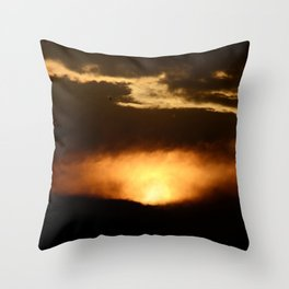 """""""Let there be Light"""" Throw Pillow"""