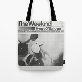 House Of Balloons Tote Bag