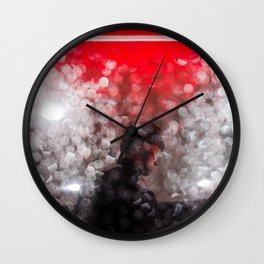 Fell Like Last Night's Rain Wall Clock