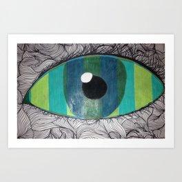 Eye Am Insane Art Print
