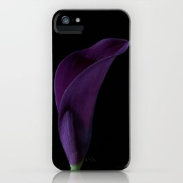 The Calla Purple 2 iPhone Case