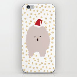 Happy Holidays Fluffy iPhone Skin