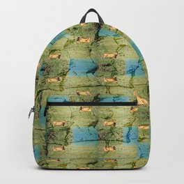 Standing Lion [Cecilia Lee] Backpack