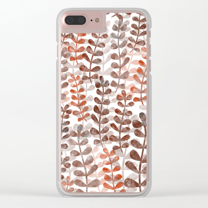 Leaf 20 Clear iPhone Case