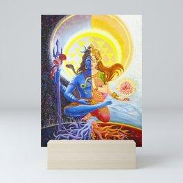 Shiva and Shakti Mini Art Print