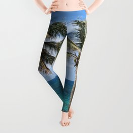 Bahama Palms Leggings