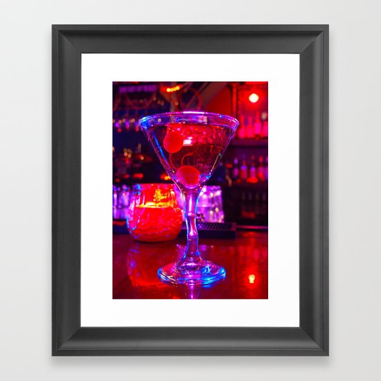 Martini aesthetics  Framed Art Print
