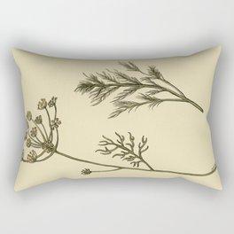 Dill Botanical Rectangular Pillow
