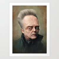 christopher walken Art Prints featuring Christopher Walken by Derek Wehrwein