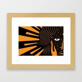 Her Beloved is Radiant Framed Art Print