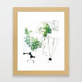 Selbstverständnis Framed Art Print
