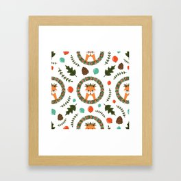 Christimas Pattern II Framed Art Print