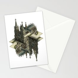 m.c. cathedral Stationery Cards