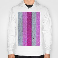 glitter Hoodies featuring Glitter by Ana Dags