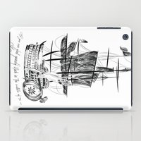 larry stylinson iPad Cases featuring Larry tattooes by Drawpassionn