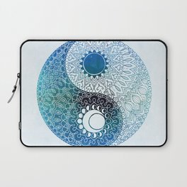 moon and sung (blue) Laptop Sleeve