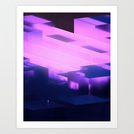 In its Right Place Art Print