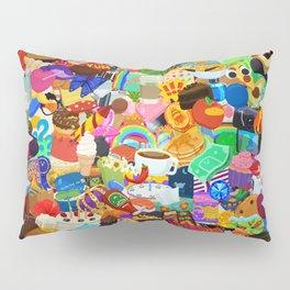 Sticker overload Pillow Sham