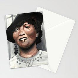 Zora Neale Hurston, Literary Print, Drawings Feminist Icon Portrait, Minimalist Wall Art Decor, Nursery Art Stationery Cards