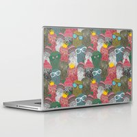 it crowd Laptop & iPad Skins featuring The crowd. by panova