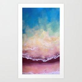 Auburn Coastline Art Print