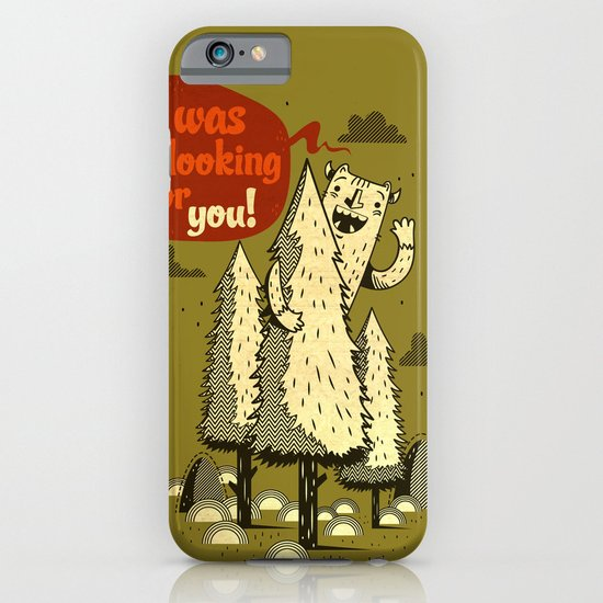The Woods Monster. iPhone & iPod Case
