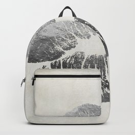 Hollywood Kiss Silver Backpack