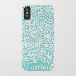 Tiffany Doodle iPhone Case