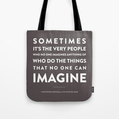 Imagine - Quotable Series Tote Bag