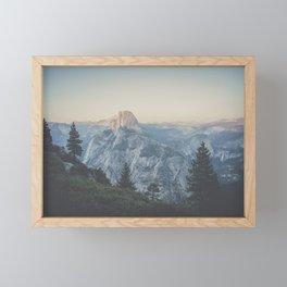 Half Dome VII Framed Mini Art Print