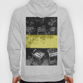 table in yellow Hoody