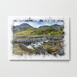 Snowdonia Metal Print