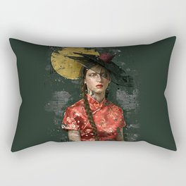Geisha latina Rectangular Pillow