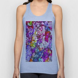Heavenly Doodles  - Many Eyes Version 2 Unisex Tank Top