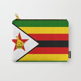 Flag of Zimbabwe Carry-All Pouch
