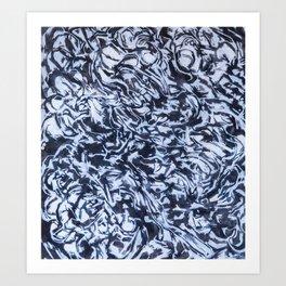 She Sees Skulls Art Print