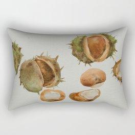 Spiky conkers Rectangular Pillow