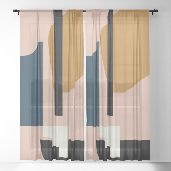 Shape study #2 - Lola Collection Sheer Curtain