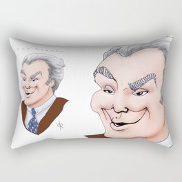 The Axeman Rectangular Pillow