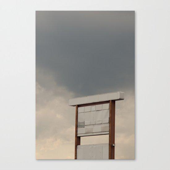 Un-advertising Canvas Print