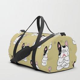 Namaste French Bulldog Duffle Bag