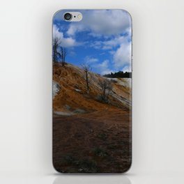 Mammoth Hot Spring Colors iPhone Skin