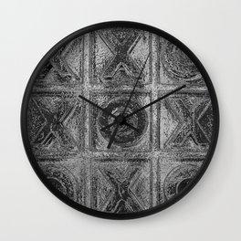 Noughts & Crosses 1 Wall Clock