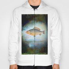 The surrealist fish Hoody