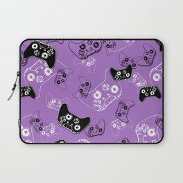 Video Game Lavender Laptop Sleeve
