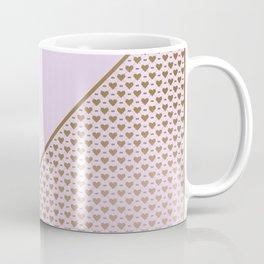 Heartless 2 - Lavender + Brass Coffee Mug