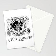 Vita Brevis Stationery Cards