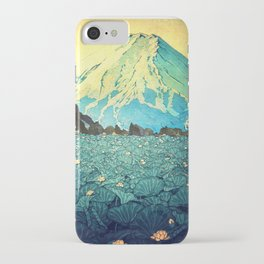 Waddling through Kennijo Lake iPhone Case